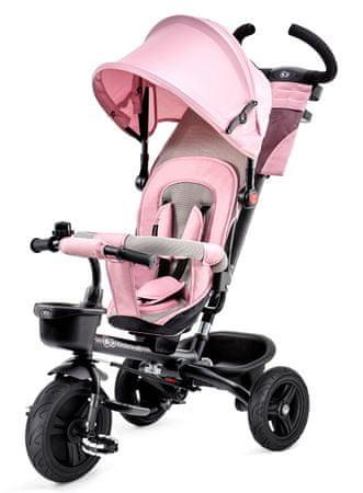 KinderKraft tricikel AVEO, roza