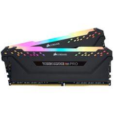 Corsair Vengeance RGB PRO pomnilnik (RAM), 16GB (2 x 8GB), DDR4, 3600MHz, CL18, 1.2V/1.35V (CMW16GX4M2Z3600C18)