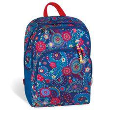 Busquets Dívčí školní batoh Blue Kashmir