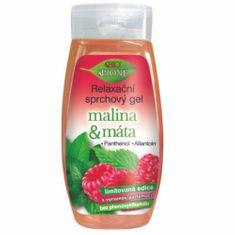 Bione Cosmetics Relaxačné sprchový gél Malina & Mäta 260 ml