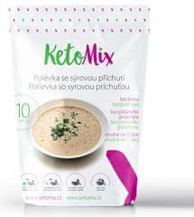 KetoMix Proteínová polievka 300 g (10 porcií) - so syrovou príchuťou