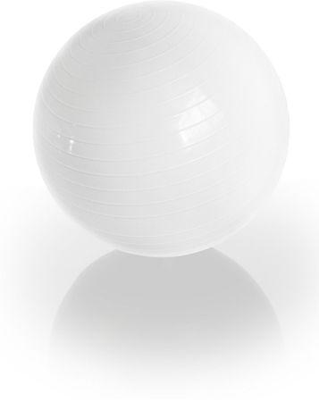 Gymstick Emotion vadbena žoga, bela, 75 cm