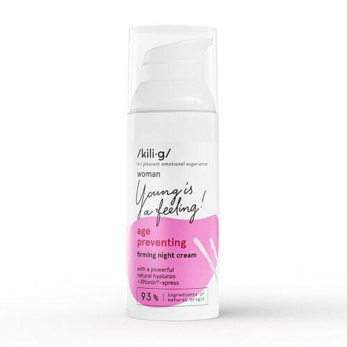 Kilig Zpevňující nočný krém Woman Age Preventing ( Firming Night Cream) 50 ml