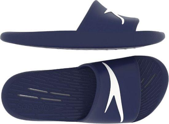 Speedo chlapčenské papuče Slides ONE PIECE JU 68-122310002, 32, tmavomodrá
