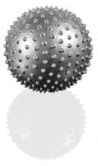 Gymstick pilates žoga z bodicami, siva