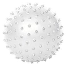 Gymstick Emotion pilates žoga z bodicami, bela