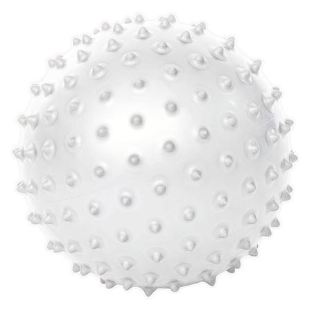 Gymstick Emotion pilates lopta s bodljama, bijela
