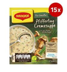 MAGGI gobova juha z lisičkami, 15 x 50 g