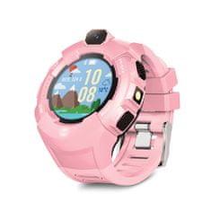 Forever KW-400 dječji sat, WiFi, GPS, kamera, roza