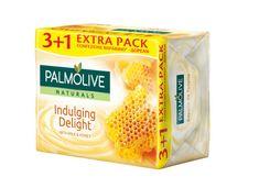 Palmolive Naturals toaletno milo, med & mleko, 90 g, 3 +1