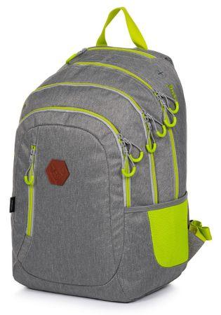 Karton P+P plecak szkolny OXY Campus szary