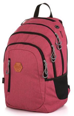 Karton P+P plecak szkolny OXY Campus czerwony