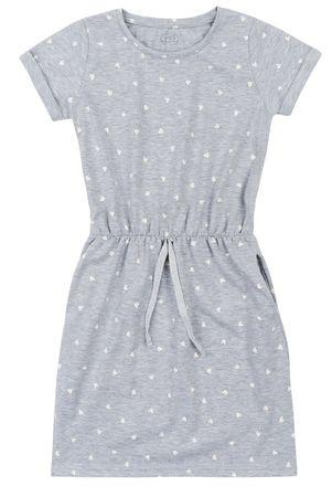 Garnamama šolski nahrbtnik dekliška obleka md99684_fm1, 122, siv
