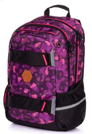 Karton P+P anatomski ruksak OXY Sport Camo girl