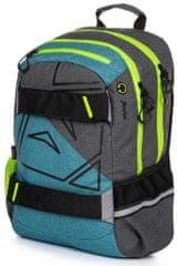 Karton P+P Plecak anatomiczny OXY Sport Fox niebieski