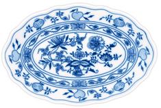 ČESKÝ PORCELÁN Misa oválna 28 cm, dekor cibulák