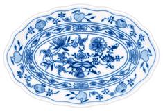 ČESKÝ PORCELÁN Misa oválna 35 cm, dekor cibulák