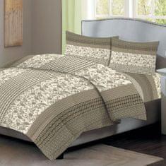 Home Elements Bavlnené obliečky, béžová, jednolôžko