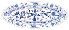ČESKÝ PORCELÁN Misa oválna na ryby 57 x 24 cm, dekor cibulák