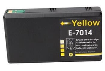 Printwell Epson Workforce PRO WP4515 kompatibilní kazeta, barva náplně žlutá, 3400 stran