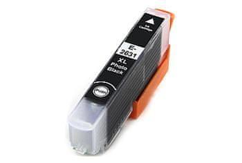 Printwell Epson Expression Premium XP-605 kompatibilní kazeta, barva náplně černá foto, 12 ml