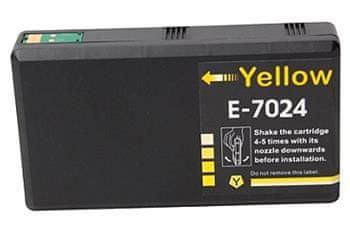 Printwell Epson Workforce PRO WP4000 kompatibilní kazeta, barva náplně žlutá, 2000 stran