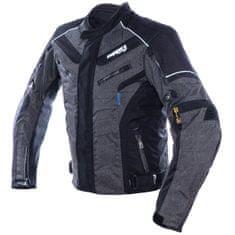Cappa Racing Bunda moto pánská HATCH textilní šedá/černá