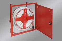 Geos Hydrantová skříň vestavěná DN 19 návin 20 m - bílá Ral 9003 - komplet