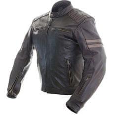 Cappa Racing Pánska kožená moto bunda MONSANTO hnedá