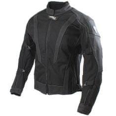 Cappa Racing Bunda moto pánska SEPANG koža / textil čierna