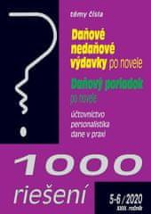 1000 riešení Daňové nedaňové výdavky po novele, Daňový poriadok po novele - účtovníctvo, personalistika, dane v praxi