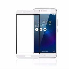 OEM Full-Cover 3D tvrzené sklo pro Asus Zenfone 4 Selfie ZD553KL - bílé