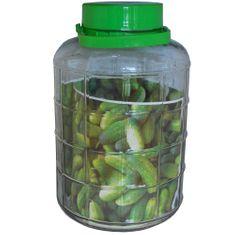 Marex Trade Skleněná láhev na okurky 10 l