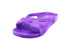 Inox Dámské pantofle s mašličkou fialové Velikost: 38