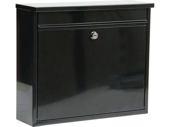 Vorel Poštovní schránka 310x360x100mm černá