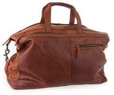 Spikes&Sparrow Brandy cestovní kožená taška SPIKES & SPARROW