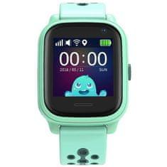 Smartomat Kidwatch 3, smartwatch (inteligentny zegarek), zielony