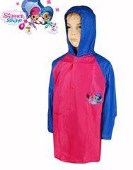 SETINO Dívči pláštěnka Shimmer a Shine - fuchsiová / modrá