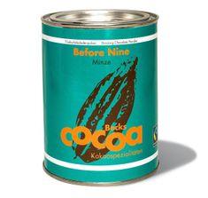 """Becks Cocoa Rozpustná čokoláda """"BEFORE NINE"""" s osvěžující mátou, 250g"""