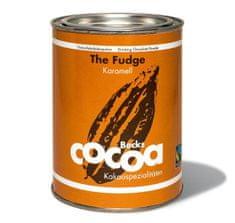 """Becks Cocoa Rozpustná čokoláda """"FUDGE"""" s jemným karamelem, 250g"""