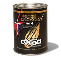 "Becks Cocoa BIO rozpustná čokoláda ""ESPECIAL"" No. 4, z Dom. Rep. 60%, 250g"