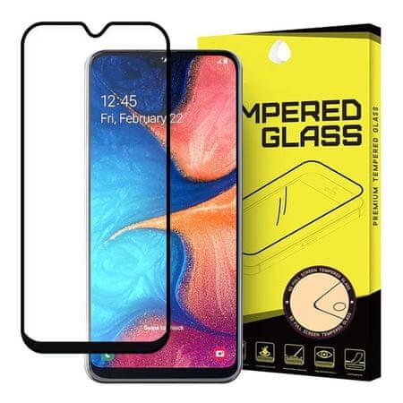 MG Full Glue Super Tough üvegfólia Samsung Galaxy A20e, fekete