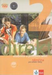 Balíček 5 ks Direkt NEU 2 Němčina pro SŠ - Učebnice+ pracovní sešit, 2CD,cvičebnice německé gramatiky, nejčastější chyby