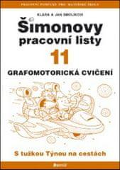 Jan Smolík: Šimonovy pracovní listy 11 - Grafomotorická cvičení