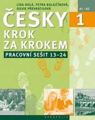 Lída Holá: Česky krok za krokem 1. Pracovní sešit: Lekce 13–24