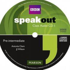 Antonia Clare: Speakout Pre-Intermediate Class CD (x3)