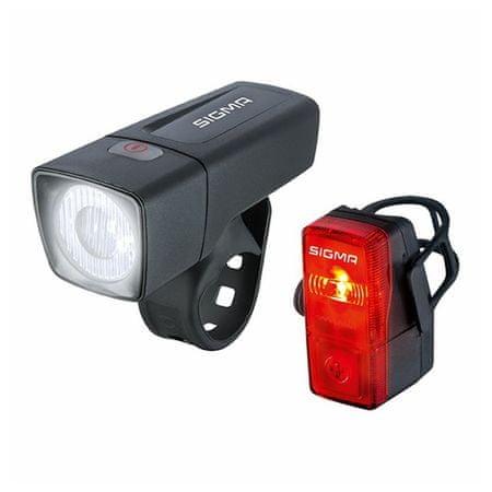 Sigma Svjetlo za bicikl Aura 25 + Cubic