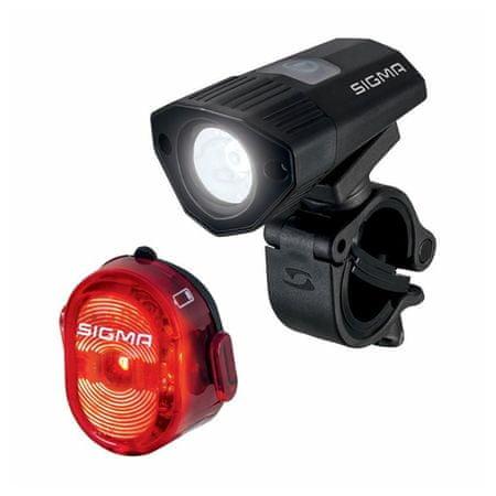 Sigma lampa rowerowa Buster 100 + Nugget II. Flash