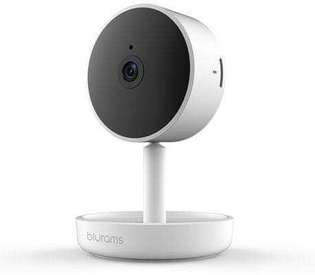 Bezpečnostní IP kamera Blurams Home Pro, Full HD, širokoúhlá, zoom, detekce obličeje, detekce pohybu, detekce zvuku, noční vidění, mikrofon, reproduktor, cloud