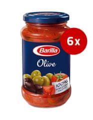 Barilla paradižnikova omaka z olivami, 6 x 400 g